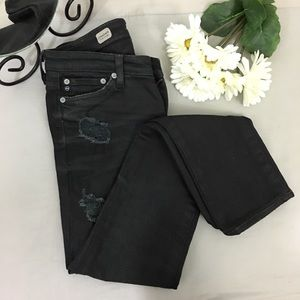 AG Adriano Goldschmied Premiere Straight Jeans